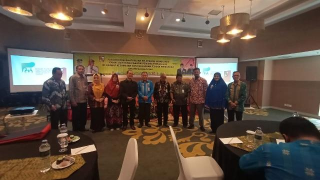 Dinas DPPPA Kota Pekanbaru Gelar Sosialisasi Kecamatan dan Kelurahan Layak Anak